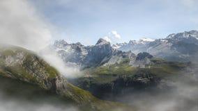 Aumento in alpi svizzere - Reuti, Hasliberg di estate Fotografie Stock Libere da Diritti