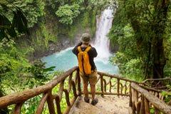 Aumento in Costa Rica fotografia stock