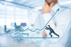 Aumento da eficiência foto de stock
