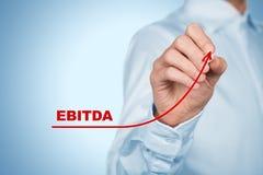 Aumento de EBITDA imagen de archivo libre de regalías