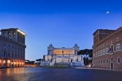 Aumento del centro dell'altare di Roma Immagine Stock Libera da Diritti