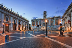 Aumento del lato di Roma Capitol Hill Immagine Stock