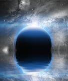 Aumento del pianeta di Exosolar illustrazione vettoriale