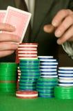 Aumento del póker Fotos de archivo libres de regalías