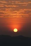 Aumento del sole di Beautuful Immagine Stock Libera da Diritti