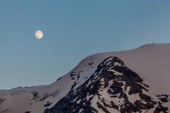 Aumento della luna piena Immagini Stock
