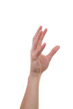 Aumento della mano ed afferrare per altre mani Immagini Stock