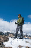 Aumento di inverno Fotografie Stock