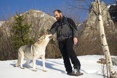 Aumento di inverno fotografie stock libere da diritti