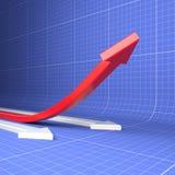 Aumento di produttività Fotografia Stock