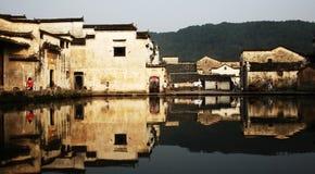 Aumento di Sun in montagna di HuangShan Fotografia Stock Libera da Diritti