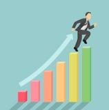 Aumento di vendite Immagini Stock