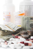 Aumento do custo dos cuidados médicos Fotografia de Stock Royalty Free