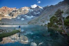 Aumento in montagne di Fann fotografia stock libera da diritti