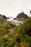 Aumento nebbioso nelle alpi svizzere Fotografie Stock
