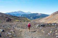 Aumento nel Cile fotografie stock libere da diritti