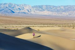 Aumento nel deserto Fotografie Stock