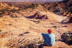Aumento nell'Utah fotografie stock