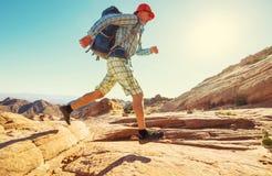 Aumento nell'Utah fotografie stock libere da diritti