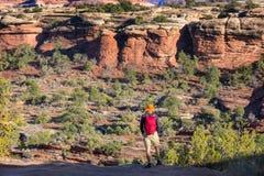 Aumento nell'Utah fotografia stock