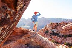 Aumento nell'Utah immagine stock libera da diritti