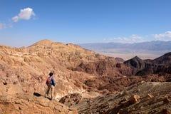 Aumento scenico in montagne di Eilat Fotografia Stock Libera da Diritti