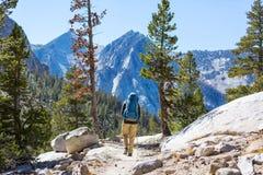 Aumento in Sierra Nevada fotografia stock libera da diritti