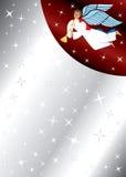 ängelbakgrundsstjärnor Arkivfoton