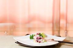 äpple - tartare grön bläckfisk royaltyfri fotografi
