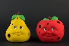 äpplepear Fotografering för Bildbyråer