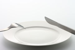 äta klart till Royaltyfri Bild