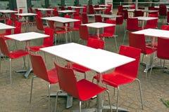 äta middag för område som är utomhus- Royaltyfria Foton