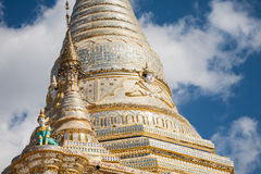 Aung Chang Tha stupa, Kalaw, Burma Royalty Free Stock Photo