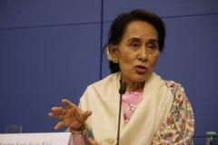 Aung San Suu Kyi Royalty Free Stock Image
