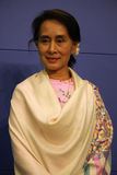 Aung San Suu Kyi Royalty Free Stock Images