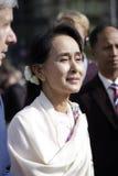 Aung San Suu Kyi Royalty Free Stock Photography