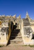 aungmye bonzan缅甸inwa maha修道院 免版税图库摄影