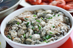Aunt five live seafood Royalty Free Stock Photos