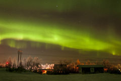 Auorora borealis over Abisko Stock Images