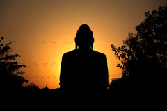 Aura of Budha Royalty Free Stock Images