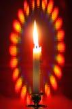Aura candle Stock Photo