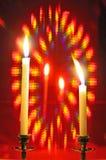 Aura candle Royalty Free Stock Image