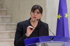 Aura Codruta Kovesi - la Roumanie anti-corruption photo stock