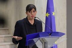 Aura Codruta Kovesi - Roemenië Anti-corruptie stock foto