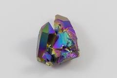 Aura del titanio dell'arcobaleno fotografia stock