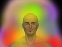 Aura. Human energy body, chakra, energy Royalty Free Stock Photos