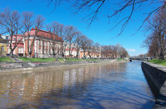 The Aura river in Turku Royalty Free Stock Images
