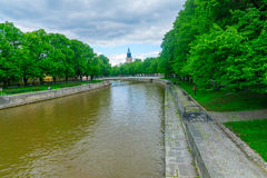 Aura river, in Turku Royalty Free Stock Photos