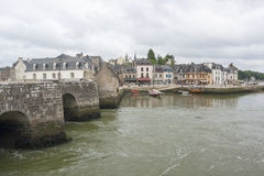 Auray in Brittany Royalty Free Stock Images