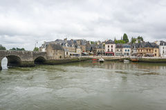 Auray in Brittany Royalty Free Stock Image
